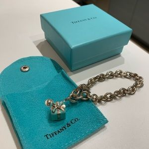 Tiffany & Co. Blue Box Charm and Bracelet